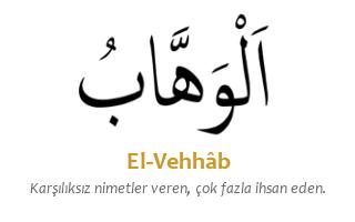Hacet Namazı ve Ya Vehhab Zikri