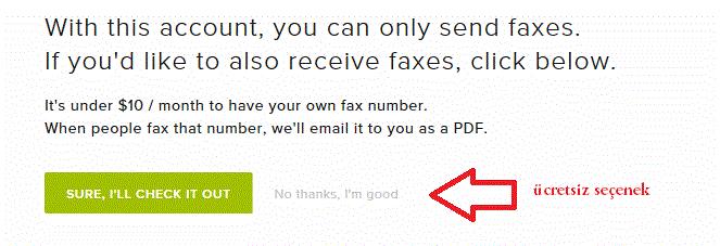 internet üzerinden ücretsiz fax göndermek
