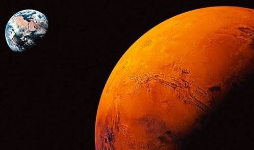 Marsa ilk ayak basan insan sen olsan