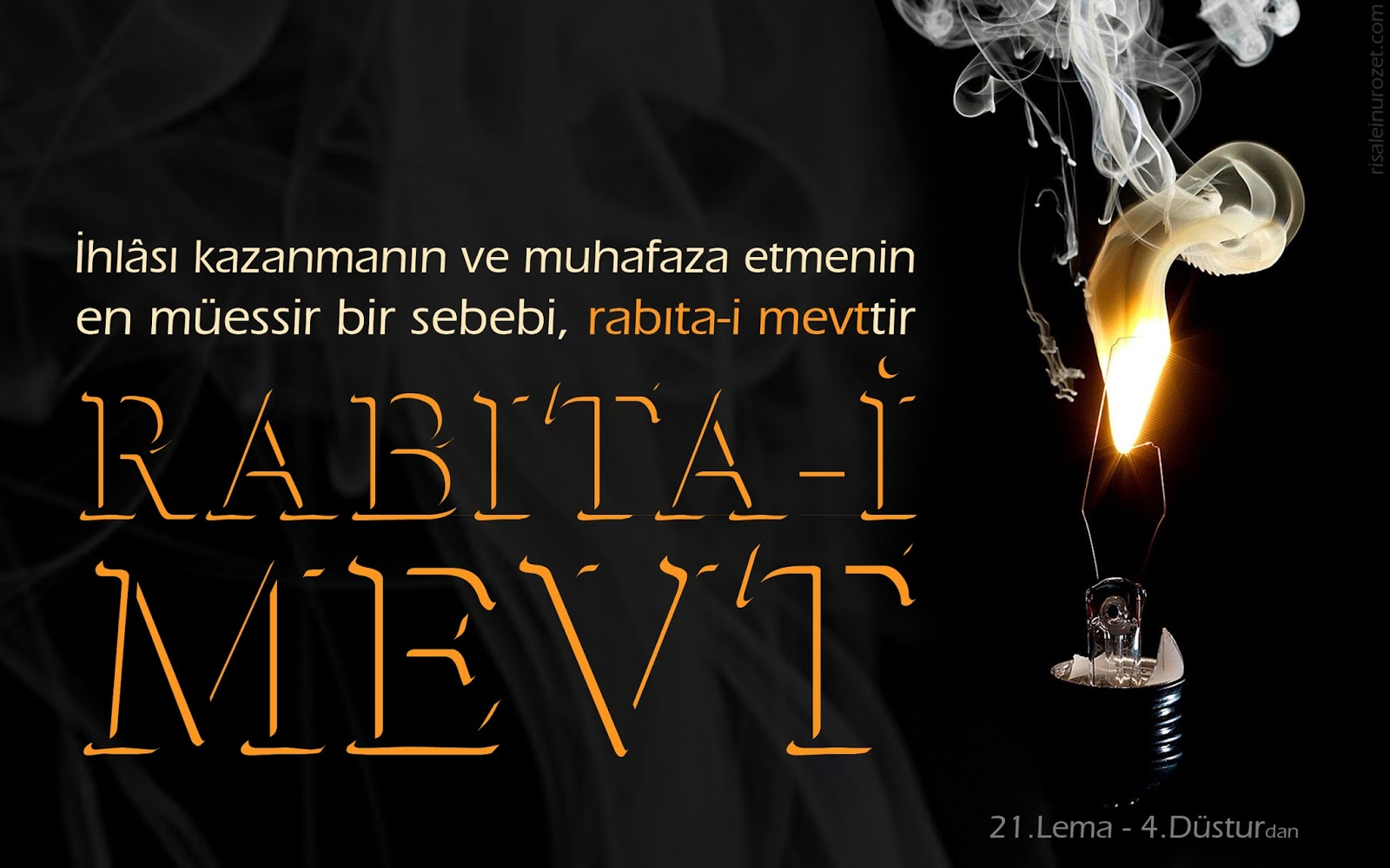 Kur-an ve Sünnette Emredilen Rabıtalardan Biri de Ölüm Rabıtasıdır
