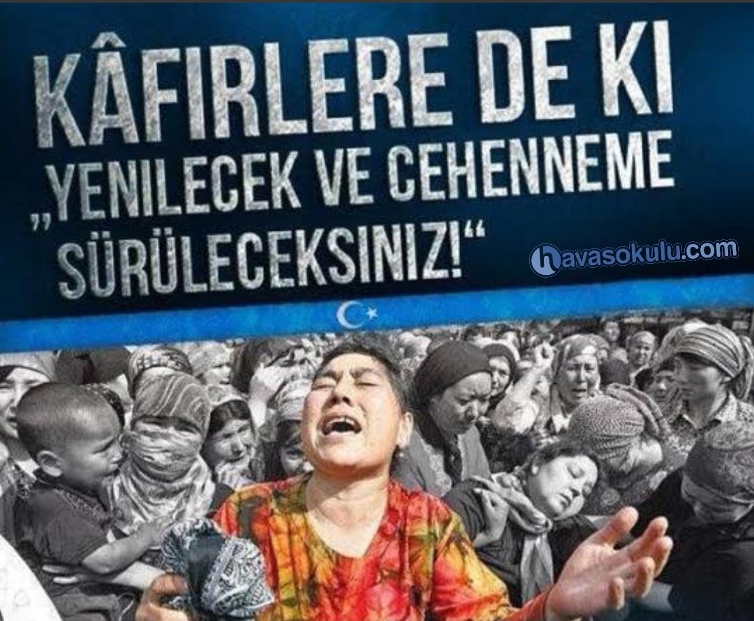 Doğu Türkistan için Dua (Çin-e Lanet)
