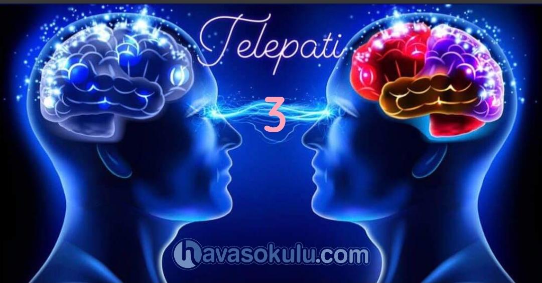 Telepati 3. Anlatim