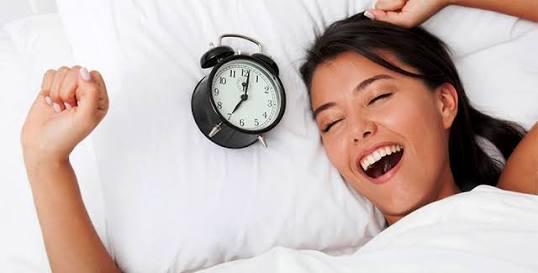 Sabah zinde ve yorgun uyanmamak için