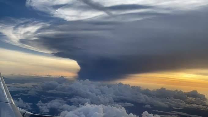 Filipinlerde Taal Volkanındaki patlamanın büyüklüğü