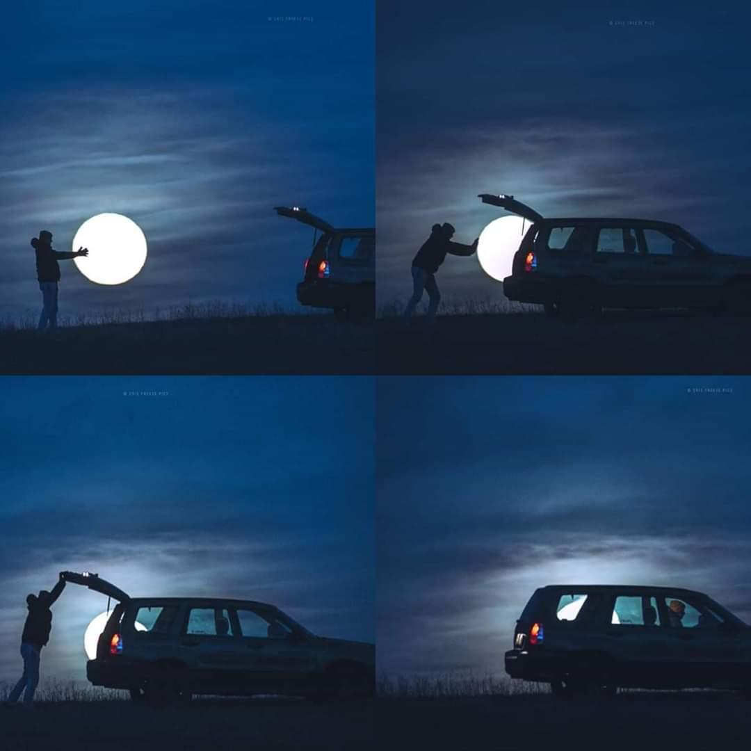 Ay'ı çalmak